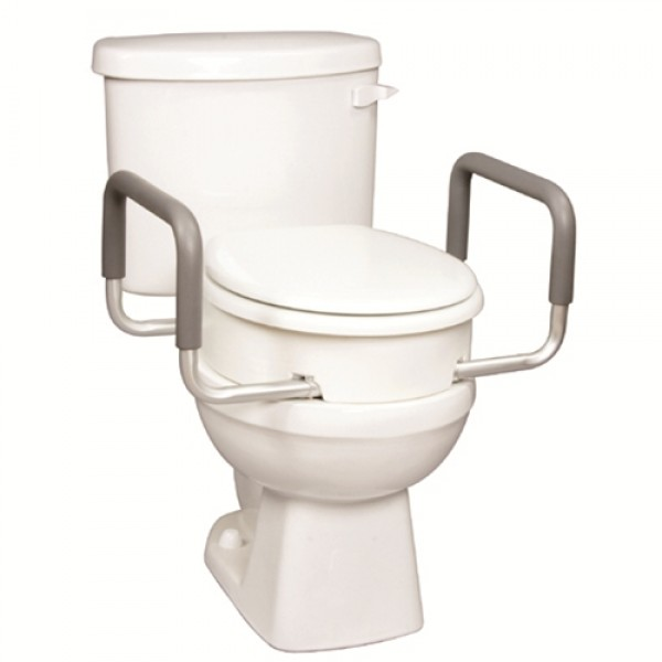 Carex Elongated Toilet Seat Elevator With Handles