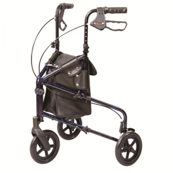 Carex Trio 3 Wheel Rollator Walker