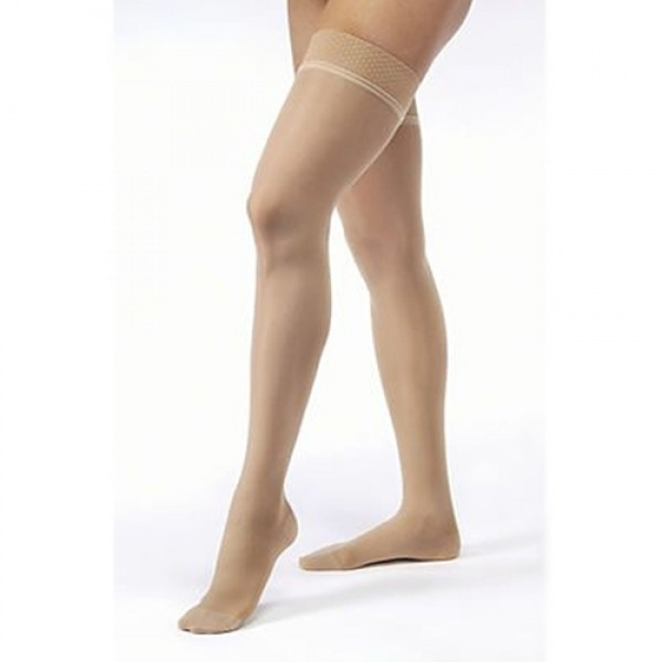 Jobst Ultrasheer 20-30mmHg Thigh High Dot Band