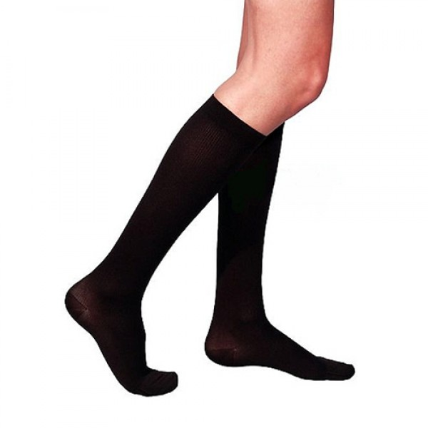 Sigvaris Mens Cotton Knee High Medical Stockings 20-30 mmHg