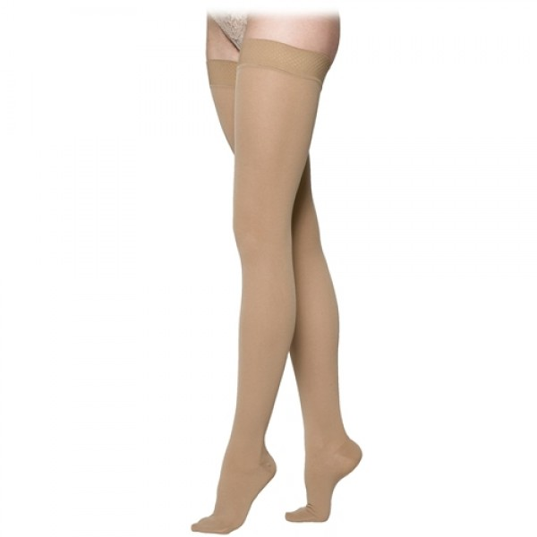 Sigvaris Womens Cotton Medical Thigh Highs 20-30mmHg
