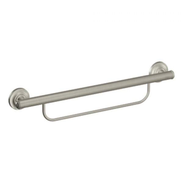 Moen Bathroom Safety Grab Bar with Towel Bar
