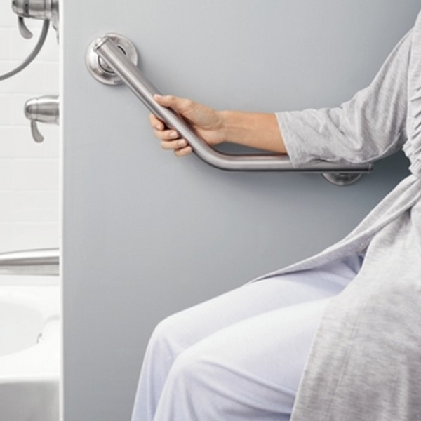 Moen Home Care SecureMount Angled Grab Bar