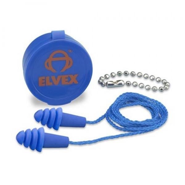 Elvex Quattro Reusable Ear Plugs