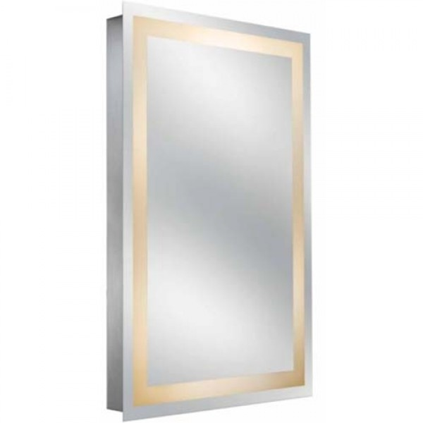 Kimball & Young Sergena Back-Lit Classic Wall Mirror