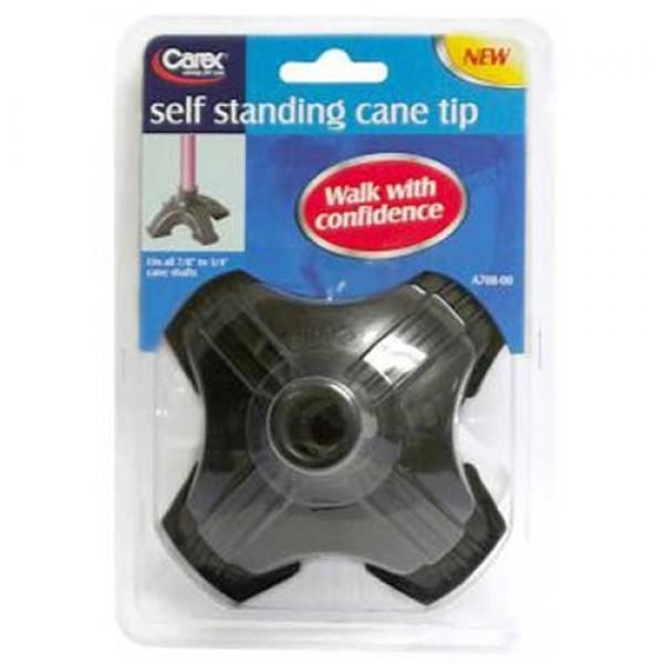 Carex Self Standing Cane Tip