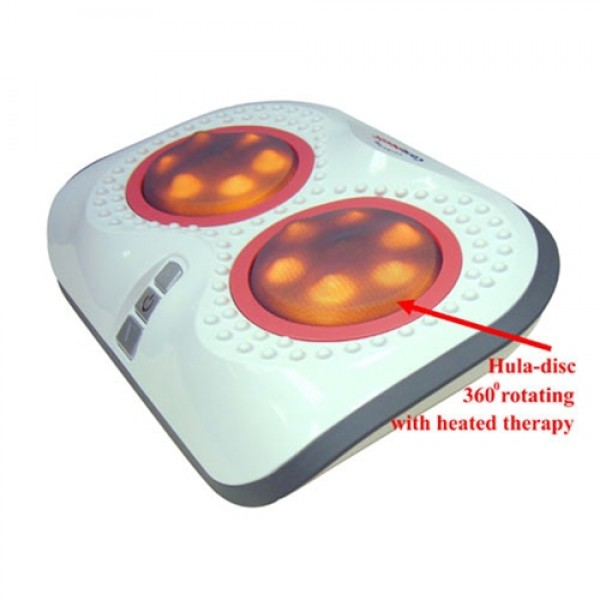 Carepeutic Turbo-Logy 3D Rolling Massager w/ Heated Therapy