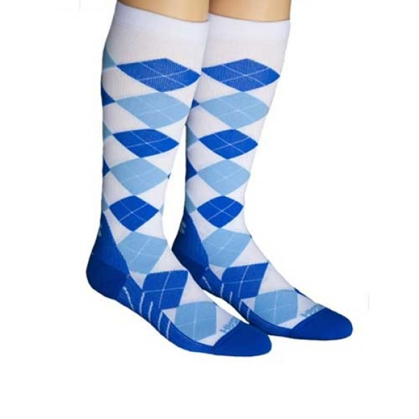 Zensah Argyle Compression Socks