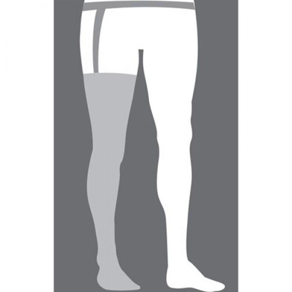 Mediven Plus 40-50 mmHg PET Thigh High OT w/Waist Attachment