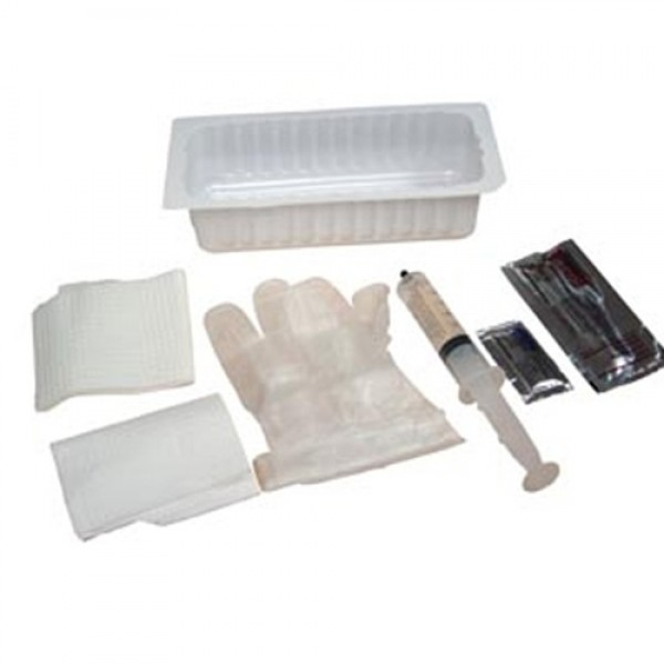 Amsino Foley Insertion Tray w/10cc Prefilled Syringe