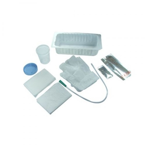 AMSure Urethral Catheterization Tray with PVC Catheter
