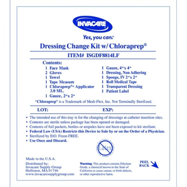 Invacare  Supply Group Drsg Chg No Alcohol W/ mmm161