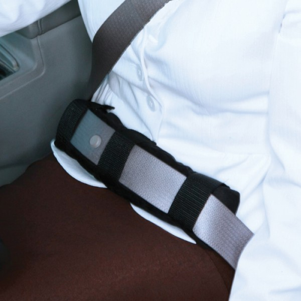 Lap Seatbelt Pad - Tan
