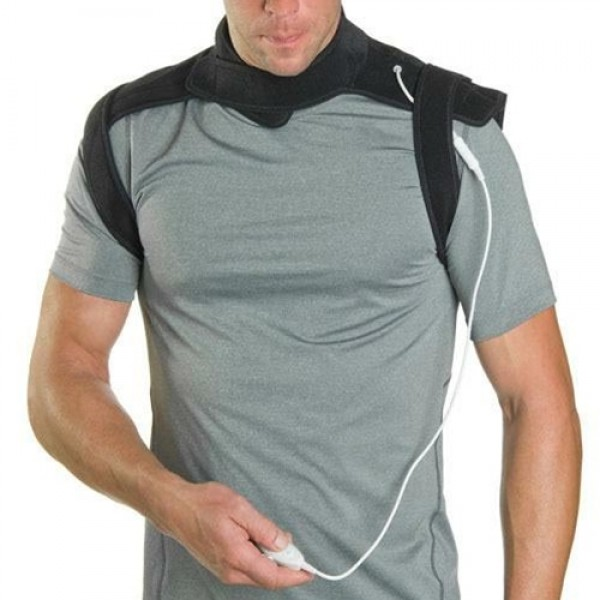 Venture Heat At-Home FIR Heated Neck and Shoulder Wrap