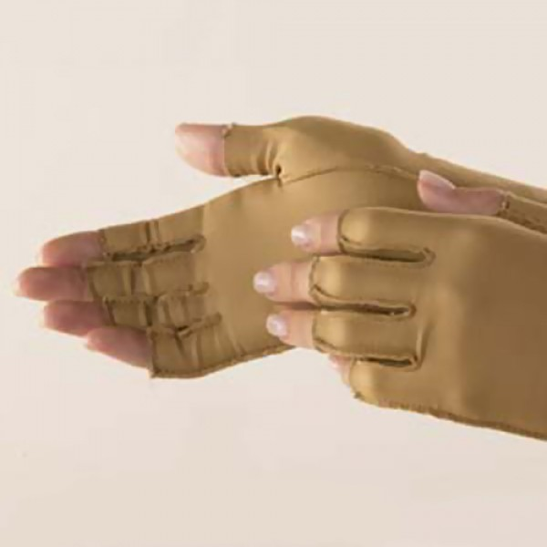 Isotoner Open-Finger Therapeutic Gloves
