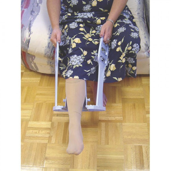 Compression Stocking Aid With Heel Guide
