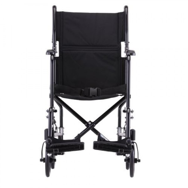 Nova Steel Wheelchair with Fixed Arms and Footrests