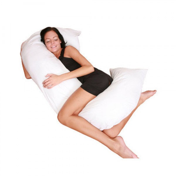 C Full Body Pillow - White
