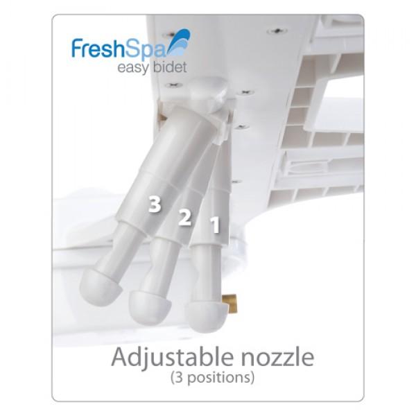Brondell FreshSpa Dual Temperature Bidet
