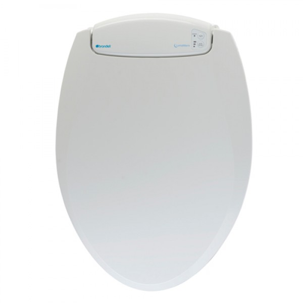 Brondell LumaWarm Heated Toilet Seat with Nightlight