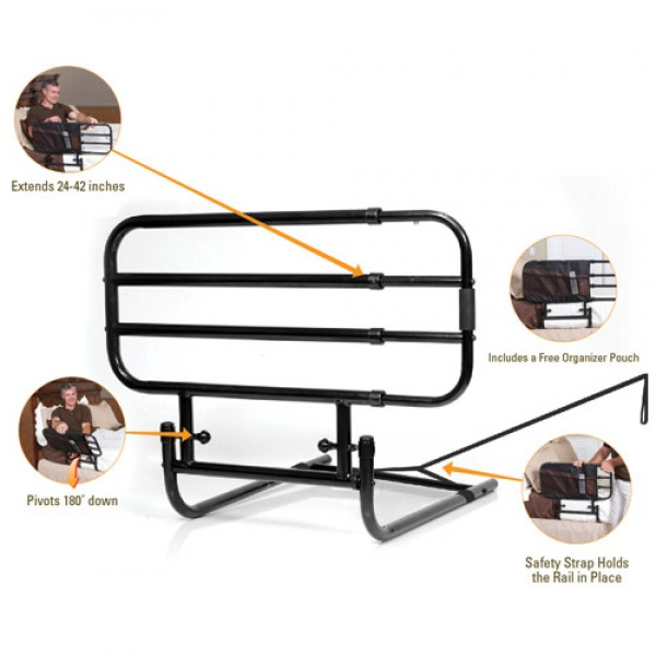 Standers EZ Adjust Bed Rail