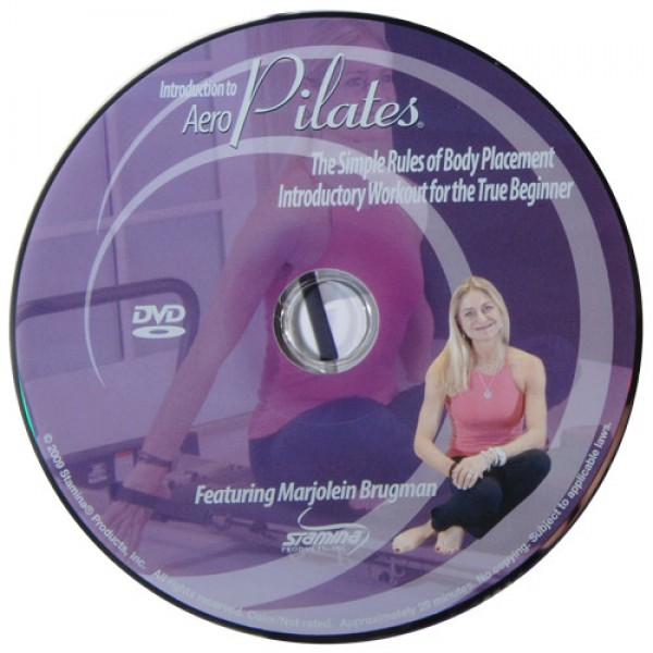 Stamina Intro to AeroPilates DVD with Marjolein Brugman