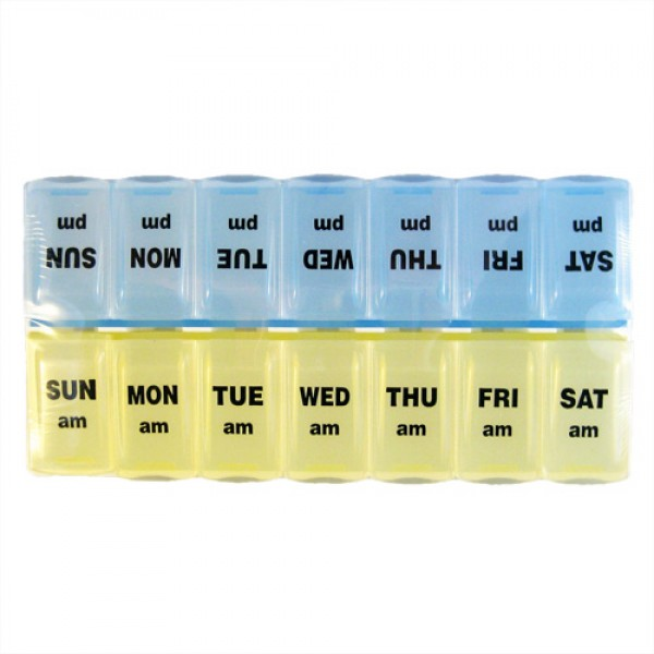 Twice A Day Pill Organizer