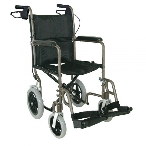 DMI Lightweight Aluminum Transport Chair