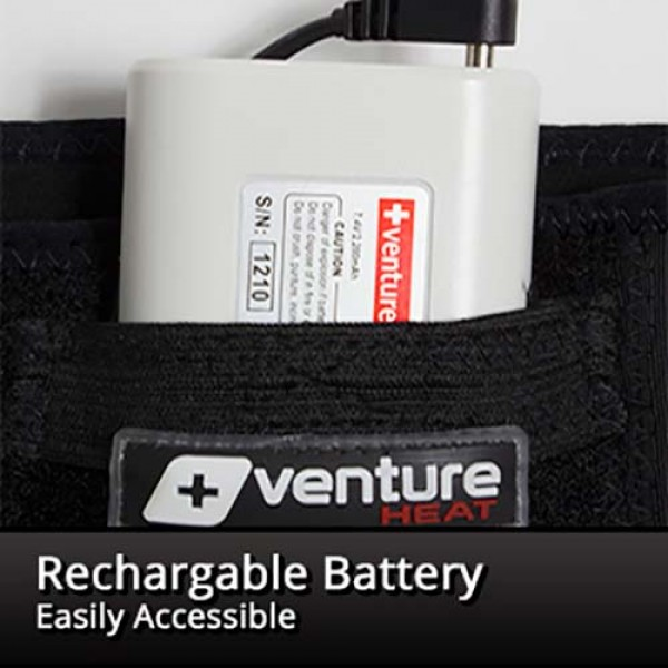 Venture Heat Rechargeable Heated Lumbar Support