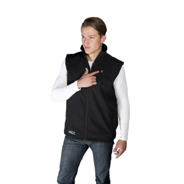 VentureHeat Battery Heated Fleece Vest w/Built in Controller
