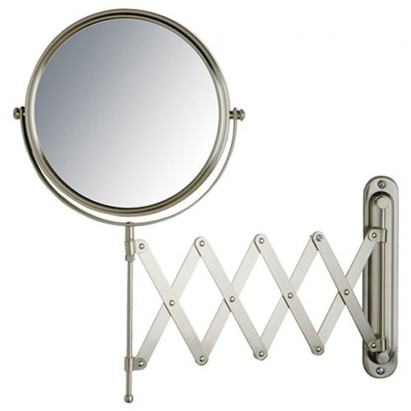 Jerdon 7x 8 Inch 2 Sided Swivel Wall Mount Extension Mirror