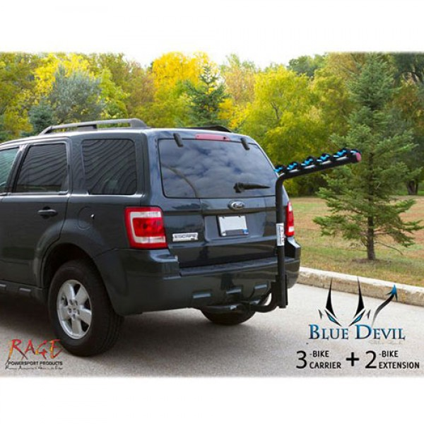Blue Devil 3 or 5 Swing Down Bike Carrier