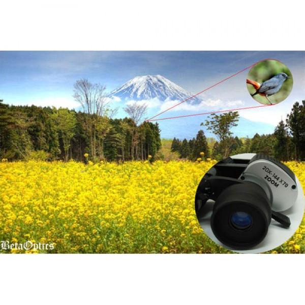 BetaOptics Military Zoom Binocular w/ Powerful Magnification