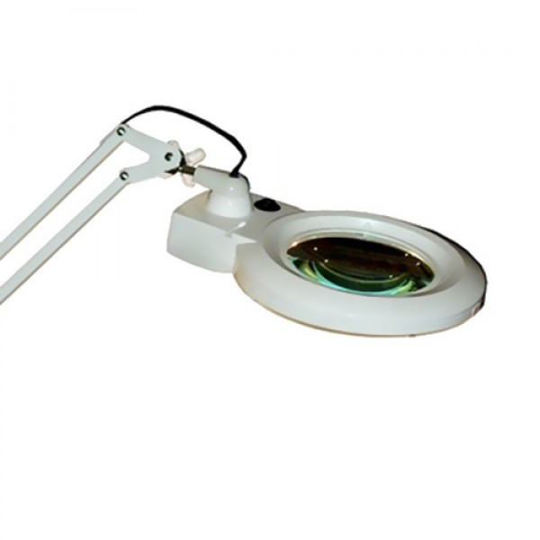 MG Electronics LED Desktop Magnifier w/ 3/5 Diopter Lenses