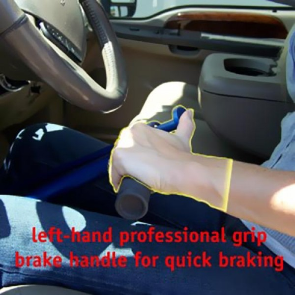 Hand Controls For Cars >> Az 1 Portable Automobile Hand Controls