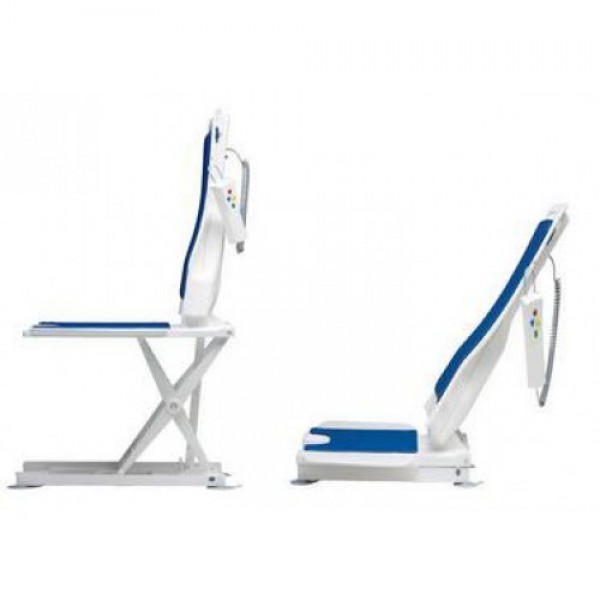 Bellavita Tub Chair Seat Auto Bath Lift White