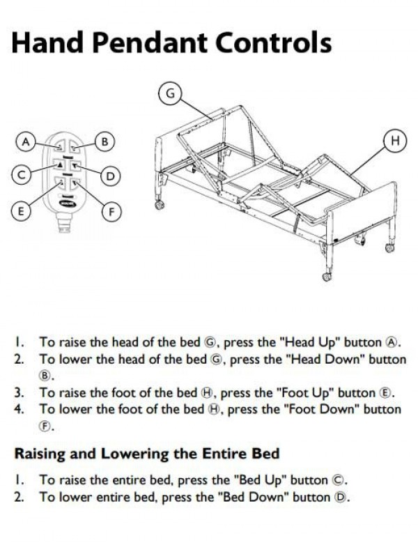 Invacare 5307ivc Manual Hospital Bed Manual Guide