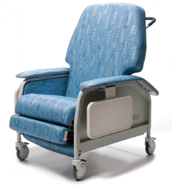 Lumex Extra Wide Clinical Care Geri Chair Recliner by Graham