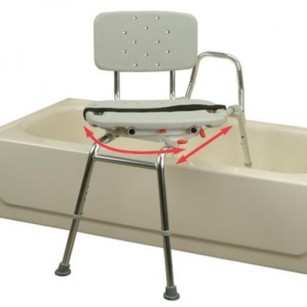 Eagle Sliding Swivel Transfer Bench Bath Safety