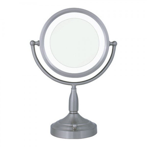 Zadro Double Sided Round Lighted Mirror