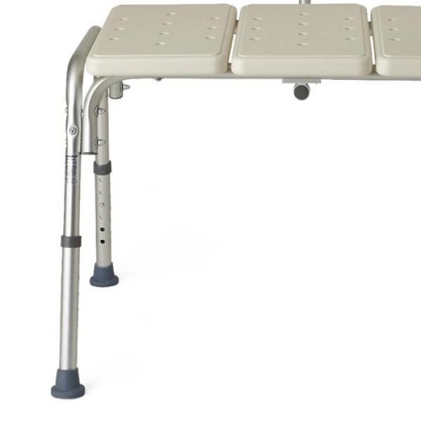 Medline Transfer Bench with Back