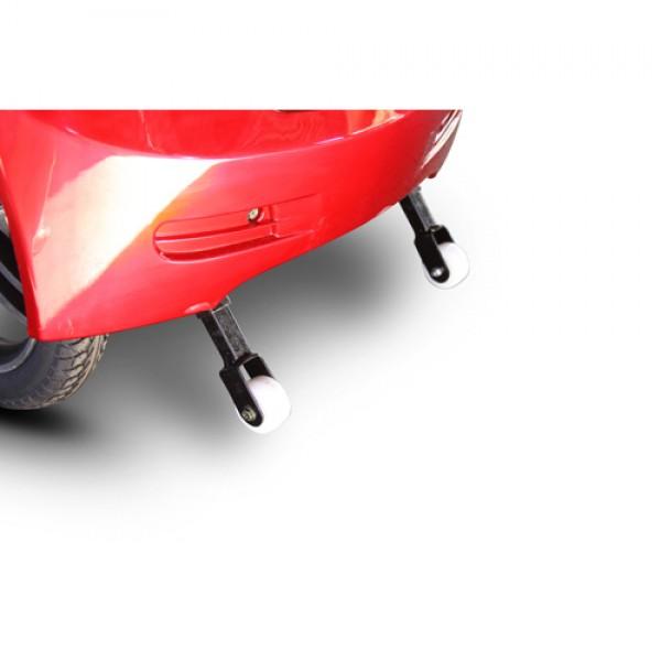 Anti-Tip Rear Wheels