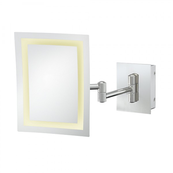 Kimball Young 3x Led Rectangle Wall Magnifying Mirror