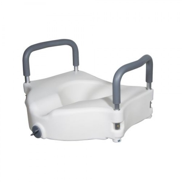 Enjoyable Drive Medical Elevated Raised Toilet Seat W Removable Padded Pdpeps Interior Chair Design Pdpepsorg