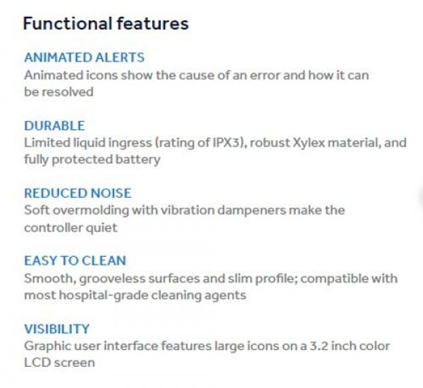 Pump Features
