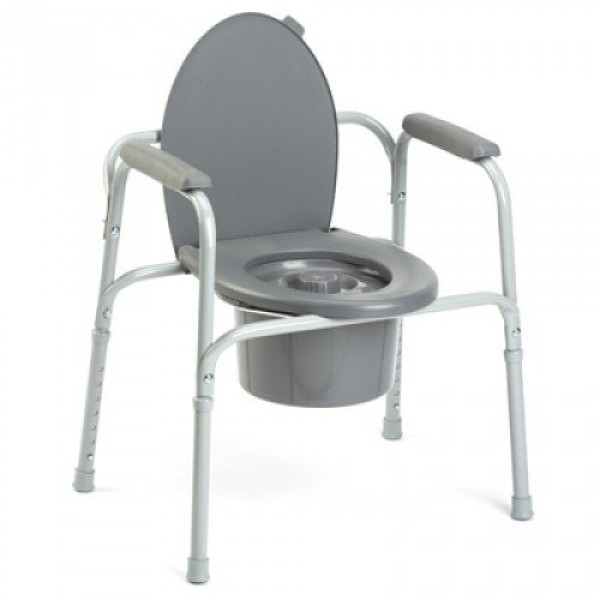 All in one commode