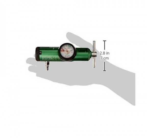 Medline HCS8725M Mini Oxygen Regulator