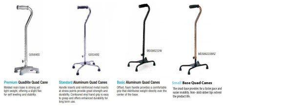 Medline Quad Cane Comparison