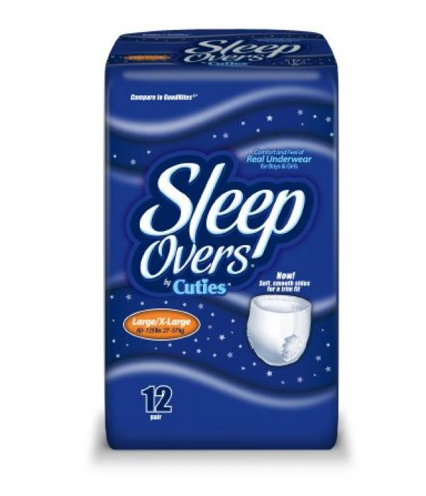 Cuties SleepOvers Large/X-Large