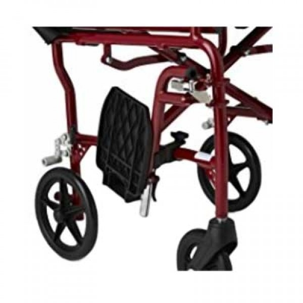 Swing Away Footrests Red